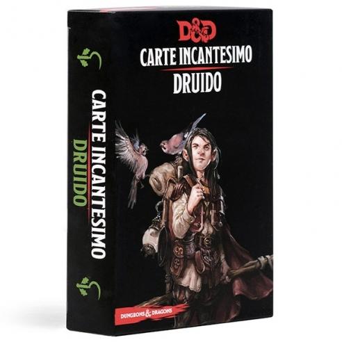 D&D - Carte Incantesimo - Druido Carte