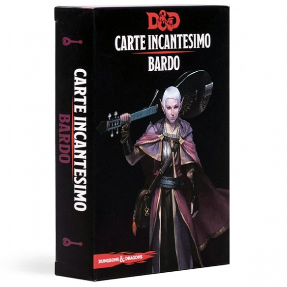 D&D - Carte Incantesimo - Bardo Carte