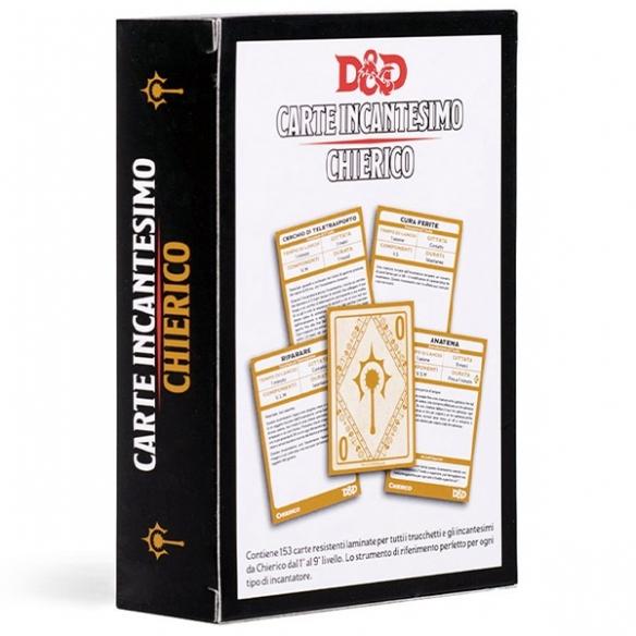 D&D - Carte Incantesimo - Chierico Carte
