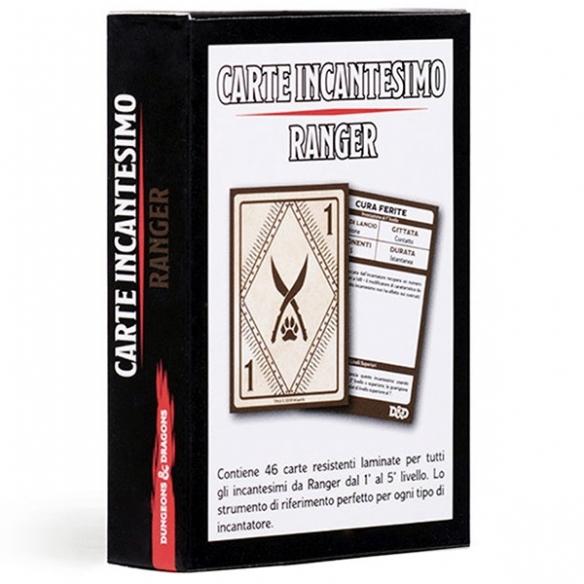 D&D - Carte Incantesimo - Ranger Carte
