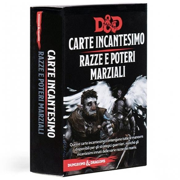 D&D - Carte Incantesimo - Razze E Poteri Marziali Carte