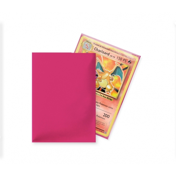 Ultra Pro - Eclipse - Matte Hot Pink - Standard (100 bustine) Bustine Protettive
