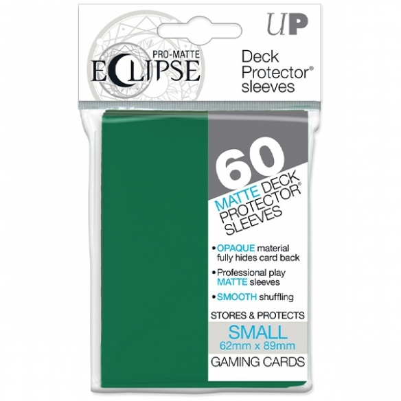 Ultra Pro - Eclipse - Matte Green - Small Japanese (60 bustine) Bustine Protettive
