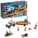 LEGO 60165 - City Coast Guard, Unità di Risposta con il Fuoristrada 4X4  - LEGO 34,90€