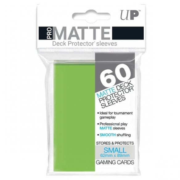 Ultra Pro - Matte Lime Green - Small Japanese (60 bustine) Bustine Protettive