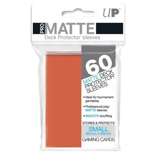 Ultra Pro - Matte Peach - Small Japanese (60 bustine) Bustine Protettive