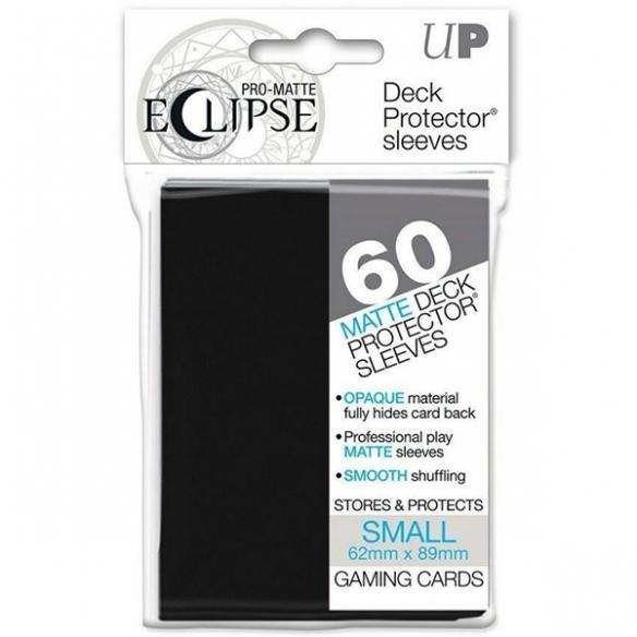Ultra Pro - Eclipse - Matte Black - Small Japanese (60 bustine) Bustine Protettive