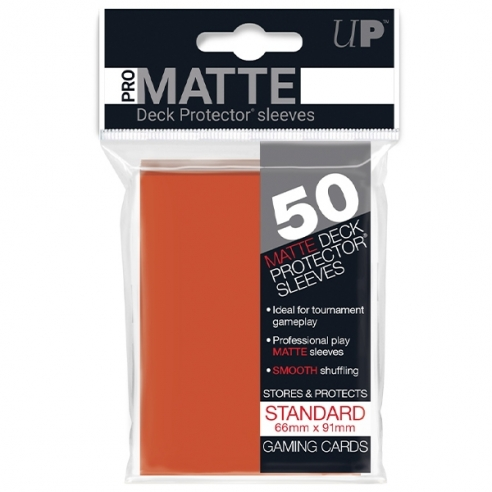 Ultra Pro - Matte Peach - Small Japanese (50 bustine) Bustine Protettive