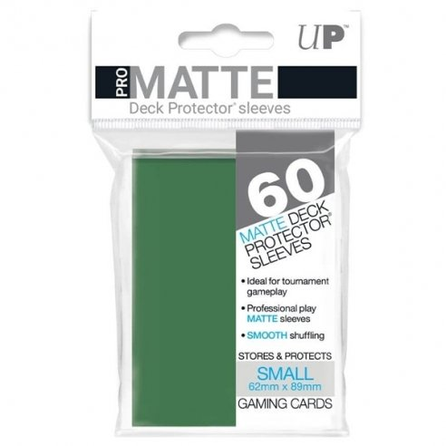 Ultra Pro - Matte Green - Small Japanese (60 bustine) Bustine Protettive