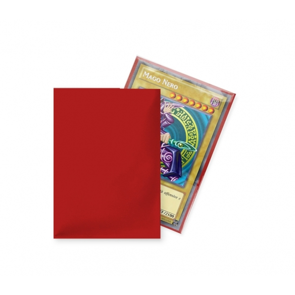 Ultra Pro - Eclipse - Matte Red - Small Japanese (60 bustine) Bustine Protettive