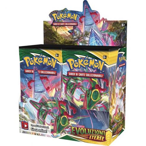 Evoluzioni Eteree - Display 36 Buste (ITA) Box di Espansione Pokémon