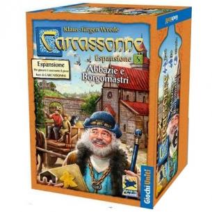 Carcassonne - Abbazie e Borgomastri (Espansione) Grandi Classici