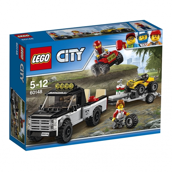 Lego City 60148 - Team da Corsa del Fuoristrada LEGO 22,90€