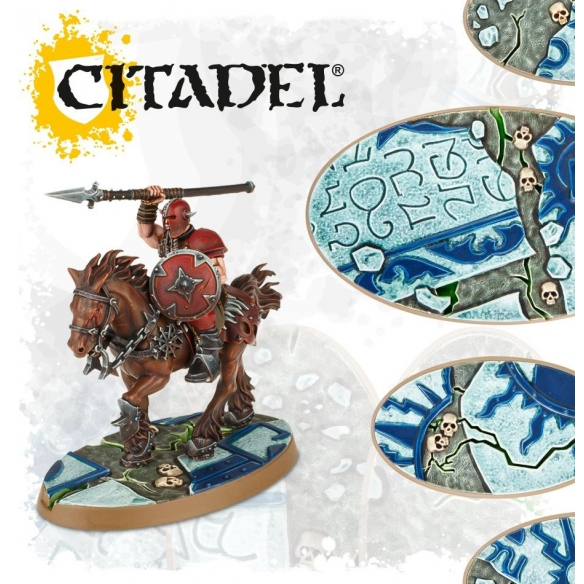 Shattered Dominion 60mm & 90mm OVAL BASES Citadel 26,00€