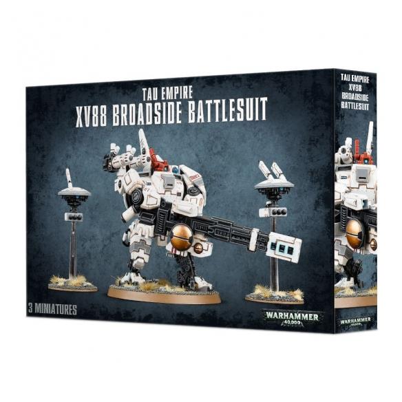 XV88 Broadside Battlesuit Warhammer 40k 40,00€