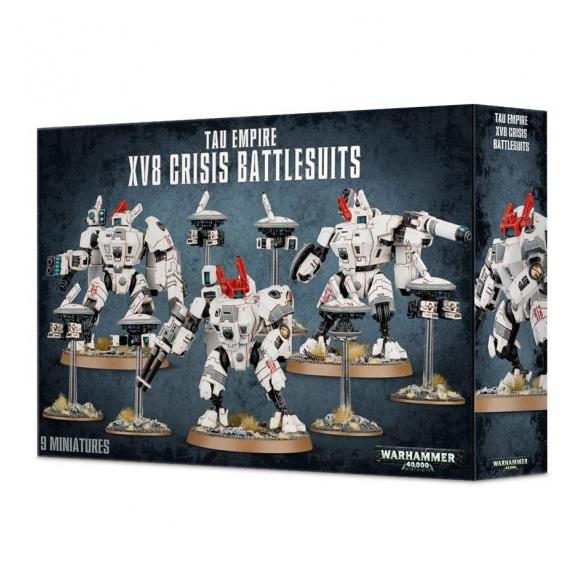 XV8 Crisis Battlesuit Team Warhammer 40k 60,00€