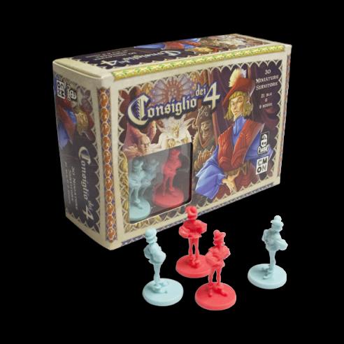 Consiglio Dei 4 - Miniature Giochi per Esperti