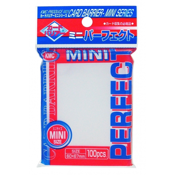 KMC - Clear - Perfect Small Japanese (Toploader) (100 bustine) Bustine Protettive