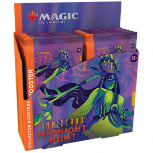 Innistrad: Midnight Hunt - Collector Booster Display da 12 Buste (ENG) Box di Espansione