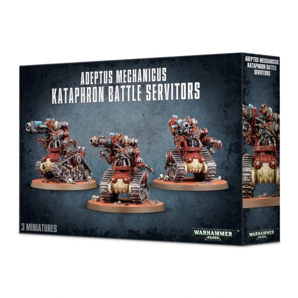 Adeptus Mechanicus Kataphron Battle Servitors Warhammer 40k 46,00 €