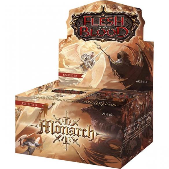Flesh and Blood - Monarch - Display da 24 Buste (ENG - Unlimited) Box di Espansione