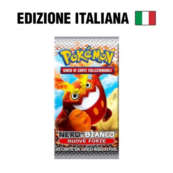 Nero & Bianco NUOVE FORZE - busta 10 carte (IT)  - Pokèmon 4,50€