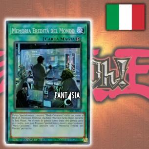 Memoria Eredità del Mondo - ITALIANO - Yu-Gi-Oh! FLOD-ITSE3 Fantàsia 2,90€