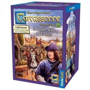 Carcassonne - Il Conte, Il Re e L'eretico (Espansione) Grandi Classici