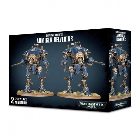 Imperial Knights - Armiger Helverins Imperial Knights