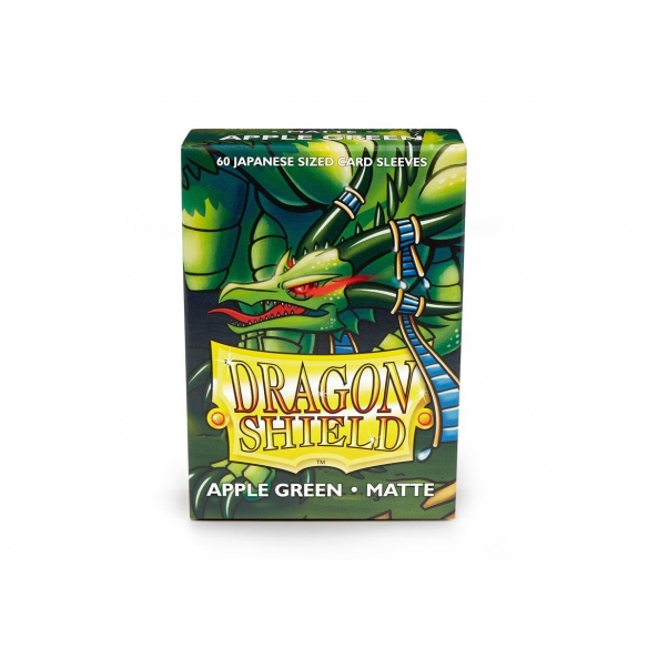 Dragon Shield - Matte Apple Green - Small Japanese (60 bustine) Bustine Protettive