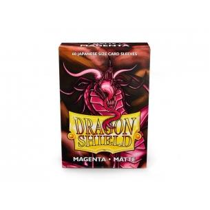 Dragon Shield - Matte Magenta - Small Japanese (60 bustine) Bustine Protettive