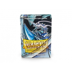 Dragon Shield Small Sleeves - Japanese Matte Clear (60 bustine) Dragon Shield 4,00 €