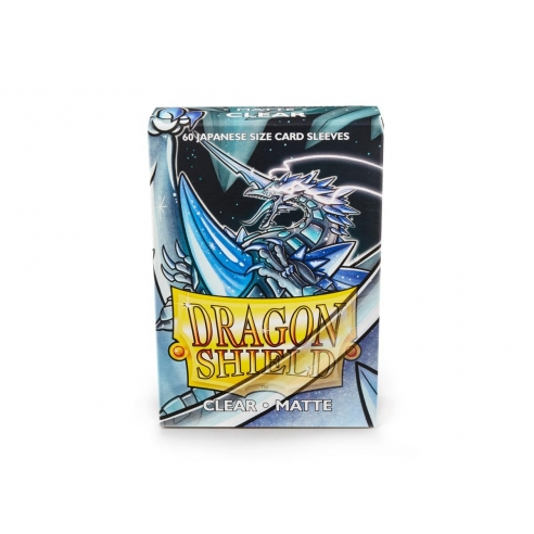 Dragon Shield - Matte Clear - Small Japanese (60 bustine) Bustine Protettive
