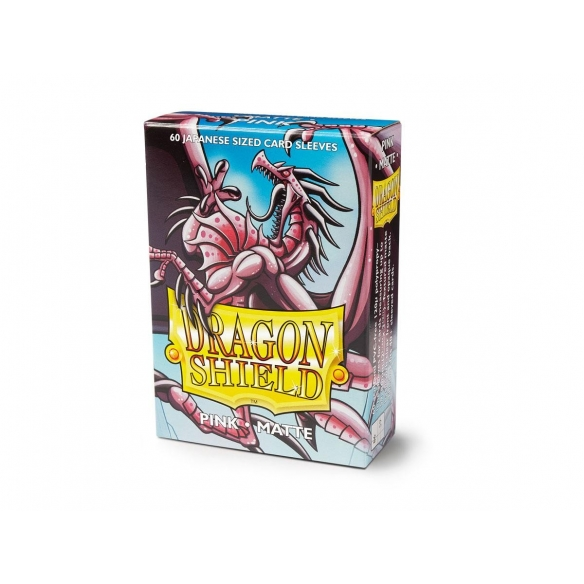 Dragon Shield - Matte Pink - Small Japanese (60 bustine) Bustine Protettive