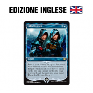 Gifts Ungiven - Signature Spellbook: Jace (EN) 005/008 Magic The Gathering 4,49 €