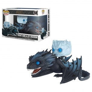 Funko Pop Rides - Night King & Icy Viserion - Game of Thrones Funko 39,90€