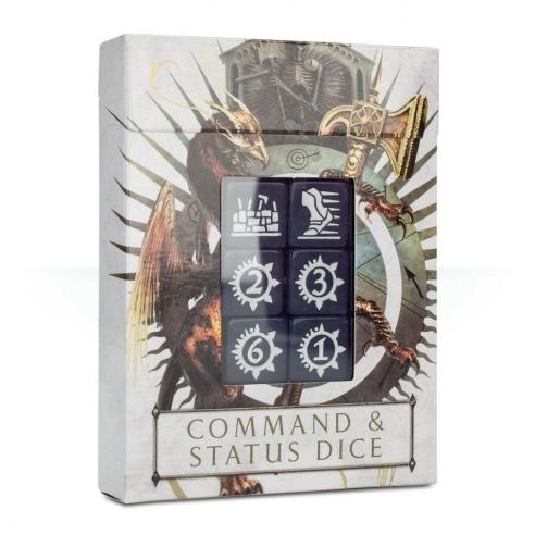 Age of Sigmar - Dadi Comando E Di Status Dadi