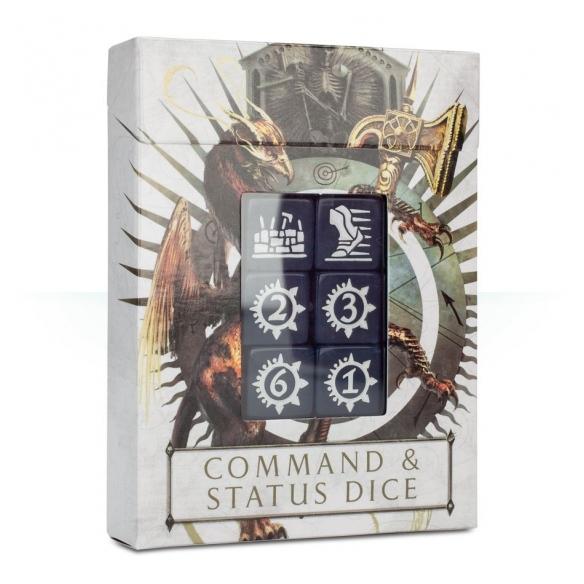 Dadi comando e di status di Warhammer Age of Sigmar  - Warhammer Age of Sigmar 15,00€