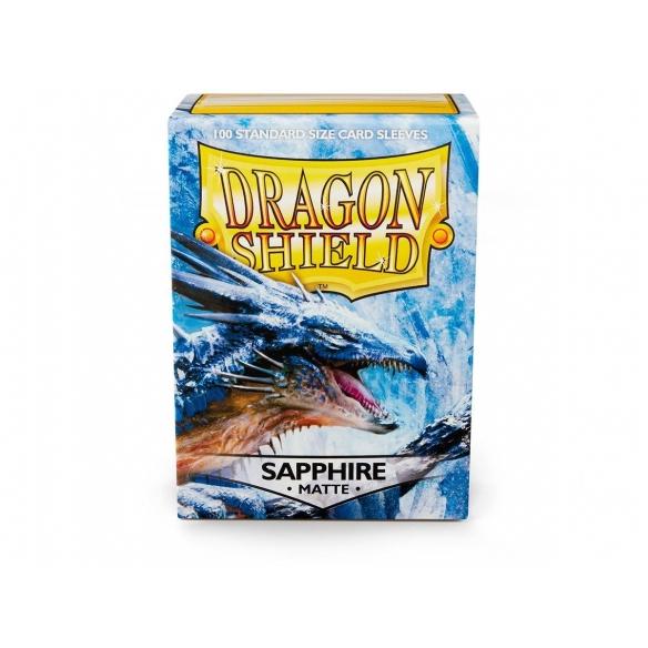 Dragon Shield - Matte Sapphire - Standard (100 bustine) Bustine Protettive