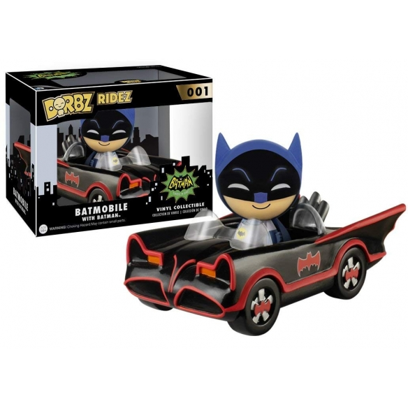 Funko Dorbz Ridez 001 - 1966 Batmobile with Batman - Batman Funko