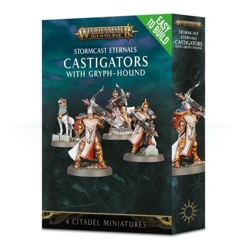 Stormcast Eternals - Easy To Build Castigators With Gryph-Hound Stormcast Eternals