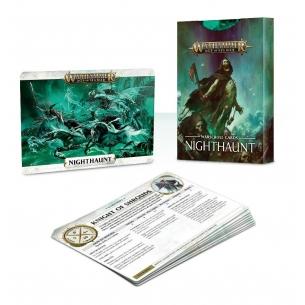 Warscroll Cards: Nighthaunt ITALIANO  - Warhammer Age of Sigmar 12,00€
