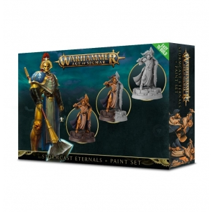 Stormcast Eternals + Paint Set  - Warhammer Age of Sigmar 24,00 €