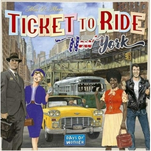 ASMODEE - TICKET TO RIDE NEW YORK - ITALIANO  - Asmodee 19,89 €