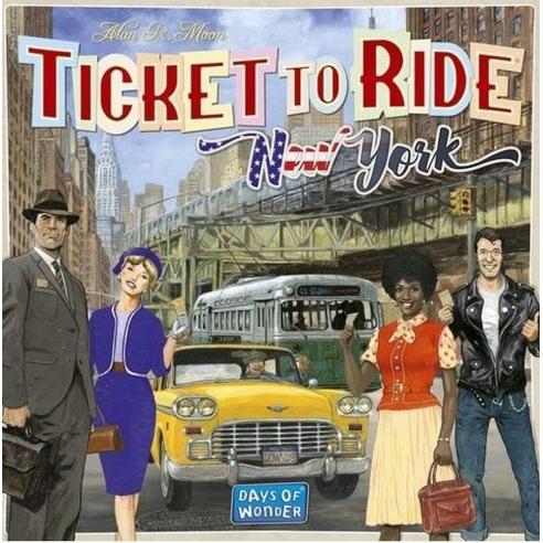 Ticket To Ride - New York Grandi Classici