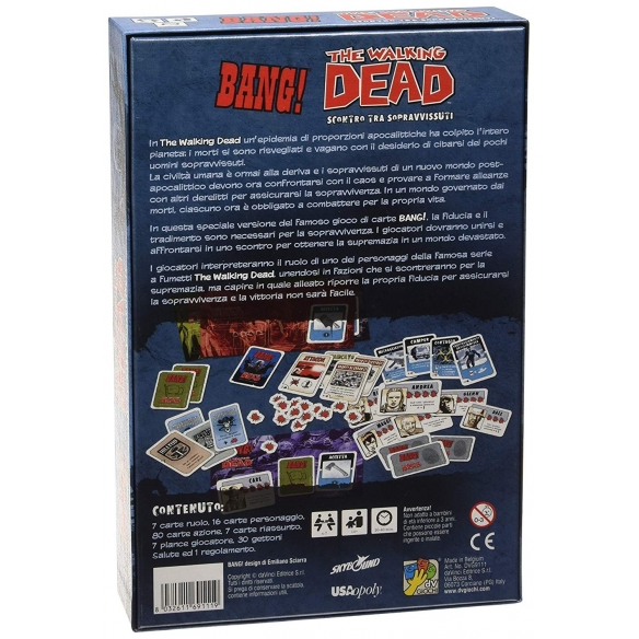 Bang! - The Walking Dead Giochi di Carte