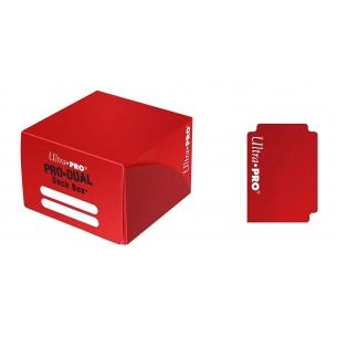 PRO Dual Standard Deck Box - Red  - Ultra Pro 4,90€