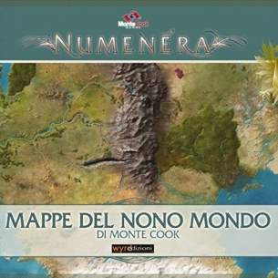 Numenera - Mappe del Nono Mondo  - Asmodee 15,90€