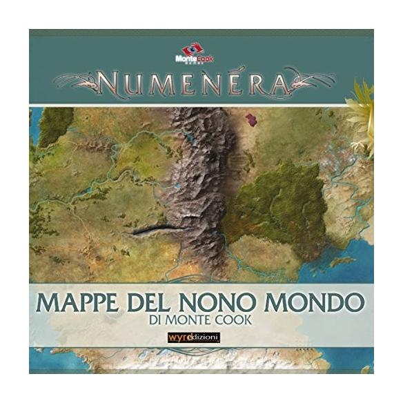 Numenera - Mappe Del Nono Mondo (Espansione) Altri Giochi di Ruolo