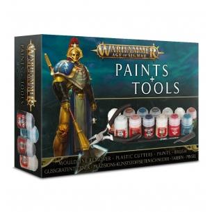 Warhammer Age of Sigmar Paints & Tools Set Warhammer Age of Sigmar 32,50€